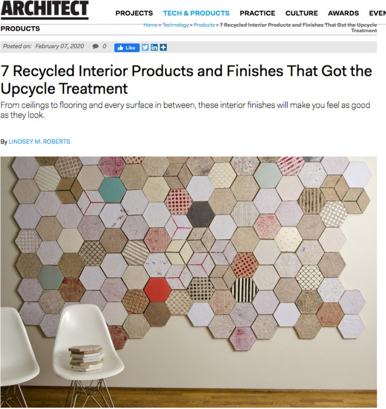 Papertile in ARCHITECT Magazine